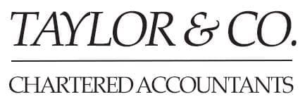 TAYLOR & CO. Chartered Accountants LOGO